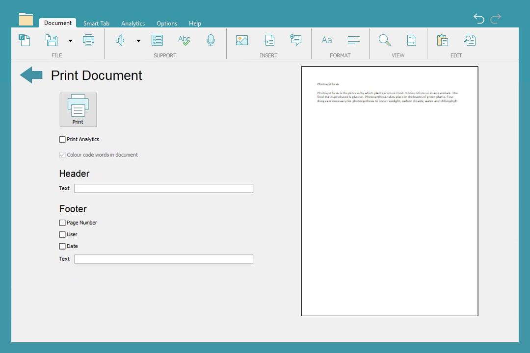 DocsPlus Save and Print